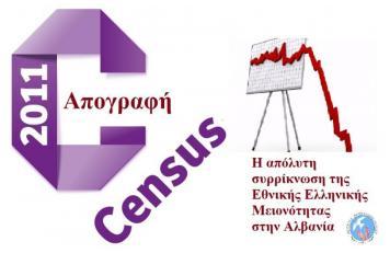 ΝεΒ:Τα επίσημα αποτελέσματα της Απογραφής πληθυσμού στην Αλβανία 2011- Η απόλυτη συρρίκνωση της Εθνικής Ελληνικής Μειονότητας!