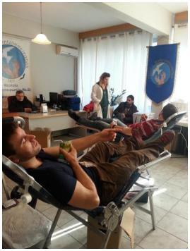 Δελτίο Τύπου: Πραγματοποιήθηκε η 5η Εθελοντική Αιμοδοσίας «Νεολαίας Βορειοηπειρωτών»