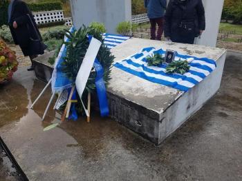 Η «Νεολαία Βορειοηπειρωτών» τίμησε την 28η Οκτωβρίου στην Βόρειο Ήπειρο