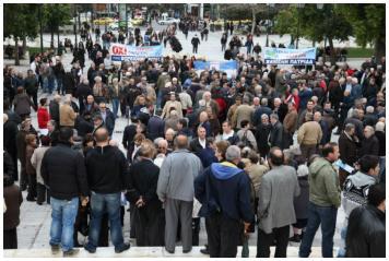 ΌΛΟΙ στο νέο συλλαλητήριο για την επαναφορά των συντάξεων  του ΟΓΑ στους βορειοηπειρώτες!