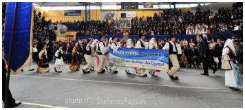 Το Χορευτικό της Νε.Β στο «Παν-Βορειοηπειρωτικό Αντάμωμα»