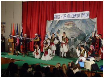 Μαθητική εκδήλωση-Αγ.Σαράντα