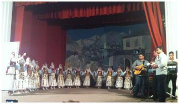 Μαθητική εκδήλωση-Δερβιτσιάνη