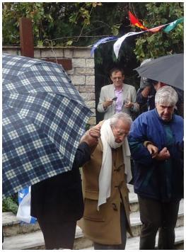 Κατάθεση στεφάνου απ' τον Γεώργιο Αναστασιόπουλο