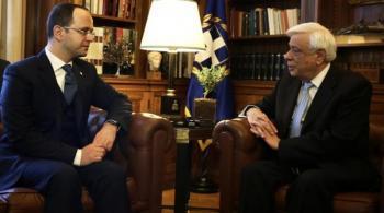 Παυλόπουλος σε Bushati: Να μην έχει φοβικά σύνδρομα η Αλβανία