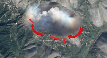 Συναγερμός στην Βόρειο Ηπειρο: Καίγονται χωριά Ελλήνων στα Ριζά!