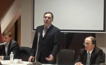 Συναντήσεις με τους έλληνες της Αυλώνας του Πρέσβη της Ελλάδος και του Γενικού Προέδρου της Ομόνοιας